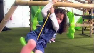 Little Tikes : Marlow Bridge Climb N Slide Swingset