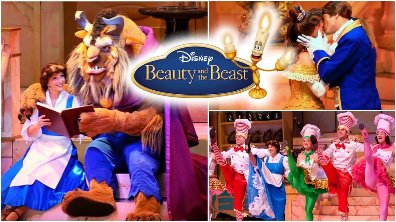 Beauty And The Beast Walt Disney World Hollywood Studios Josi Daresbach Youtube