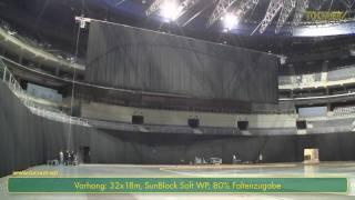 TopKat - BGV-C1 Kettenzuganlage in der O2-Arena in Prag von Tüchler