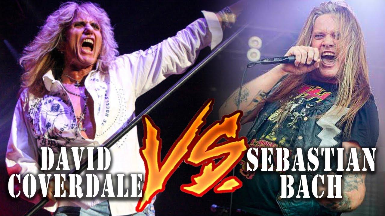 ✔ David Coverdale vs Sebastian Bach - Deu Ruim no Rock