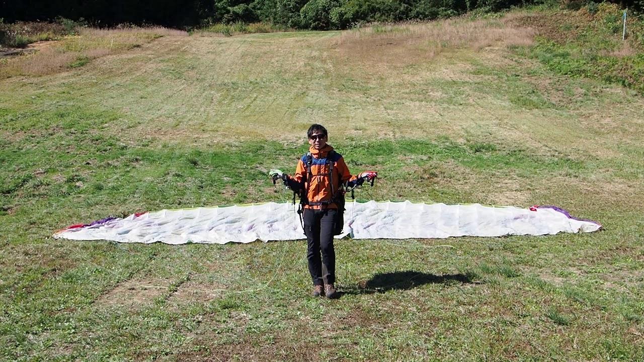 [Paraglider how-to] Cách đứng ở trung tâm cánh dù