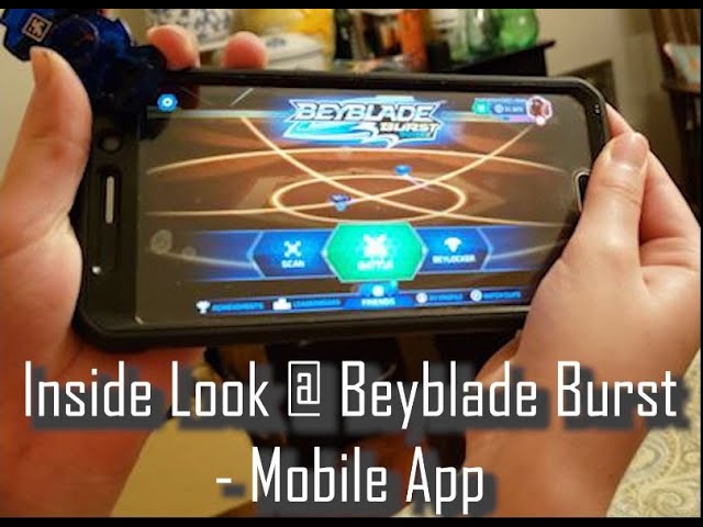 Review n' Play - BeyBlade Burst App - Android