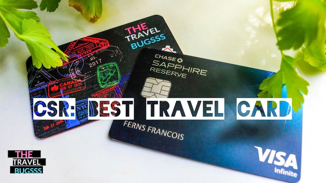 Chase Sapphire Reserve: The Best Travel Card & Why - YouTube