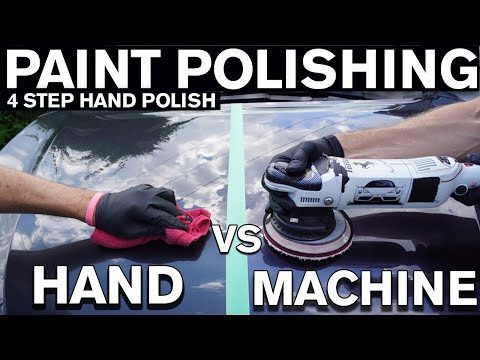 Paint Polishing By Hand VS Machine. What's Better?