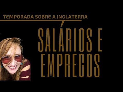 SALÁRIOS E EMPREGOS NA INGLATERRA - Quanto Se Ganha