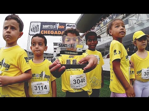 Santos Run 5k, a corrida oficial do Santos FC