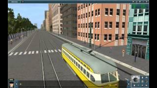 Trainz Sim 2012 Tram Simulator 2012 Video Game Gameplay