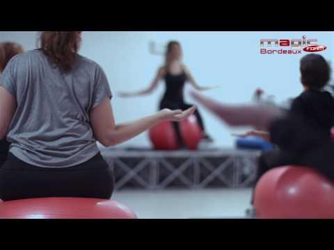 Cours de Gym Ball