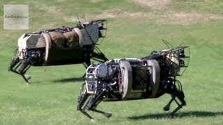 Alphadog, U.s. Marines Robot Pack Animal - Legged Squad Support System