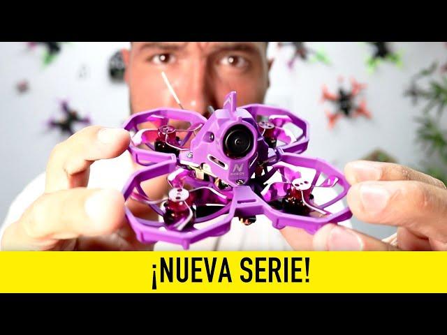 Reviews en 1 MINUTO ¡¡El DRON indestructible!!  [NVISION Junior Racer 75]