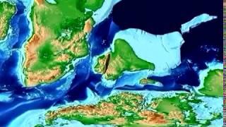 Plate Tectonic Evolution of India: Scotese Animation
