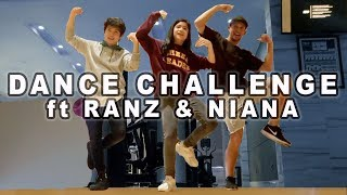 DANCE VIDEO CHALLENGE ft RANZ & NIANA | Indonesia