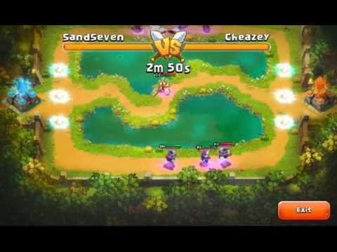 Top 100 Arena Cheazey Vs SandSeven Castle Clash Forodegames.com