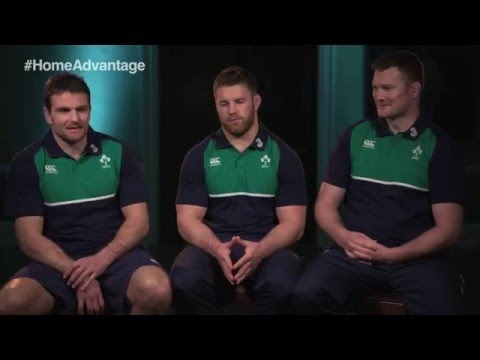 What do the fans mean to Irish Rugby players?