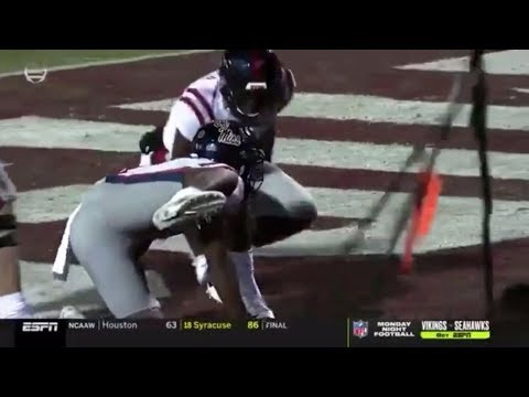 Whip - Ole Miss and the Ol' Dog pee celebration- penalty cost them the game!