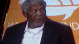 "EXTRA! EXTRA! TV & FILM STAR MORGAN FREEMAN SAYS,  ""I"