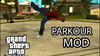 How to install parkour mod in gta sa android