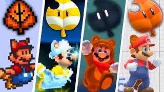 Evolution of Super Leaf in Mario Games (1988 - 2019)