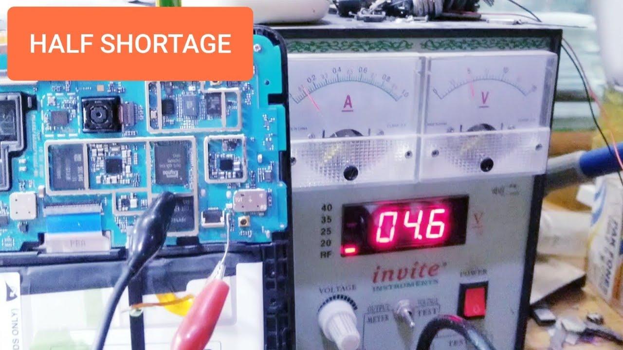 Half Shortage / How to Repair ?   Samsung Tab E (T377) Half Short Done!