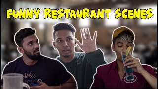 Funny Restaurant Scenes | Hyderabadi Comedy | Warangal Diaries