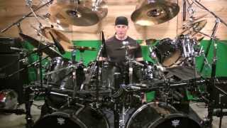 Drum Lesson- Kevan Roy- Heavy Metal drum fill- Linear hand foot combination