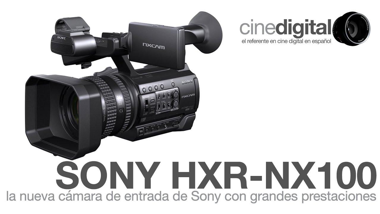 la nueva hxr nx100 de sony una c mara de entrada con grandes rh youtube com manual de videocamara sony handycam manual de camara de video sony handycam dcr-sx20