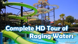 [HD] FULL Tour of Raging Waters 2014 - Water Park Tour - Raging Waters Tour