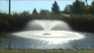 Обзор фонтанов Kasco для аэрации водоёма серии VX