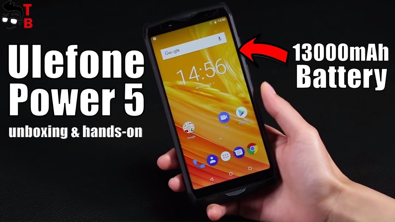 huge selection of 34072 e4fda Ulefone Power 5 Hands-on Preview: 5x Battery of iPhone X!