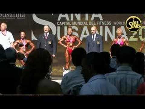 Winner Women Bodybuilding bis 55 kg