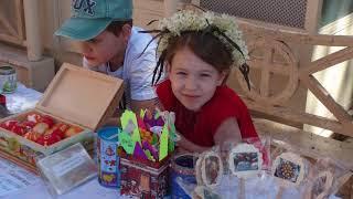 Праздник удался!  Обзор  детского Пасхального праздника на подворье святой Тавифы в Тель-Авиве.
