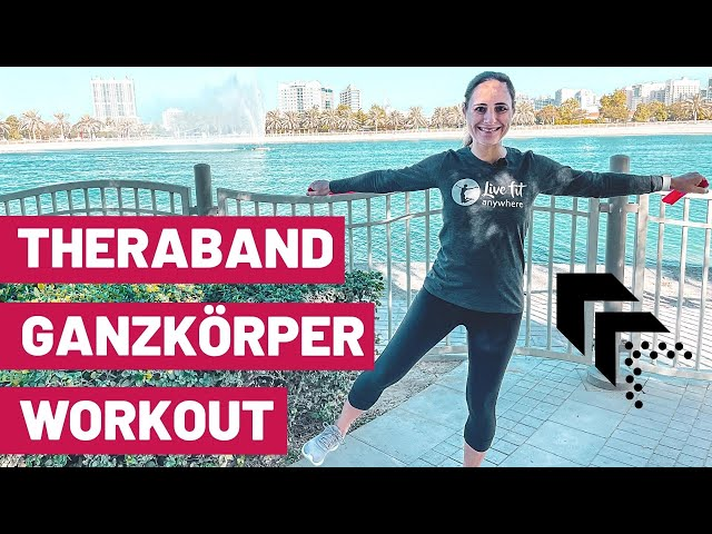 Ganzkörper Workout mit Theraband | Theraband Armübungen + Beintraining