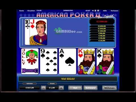 Video American poker online spielen