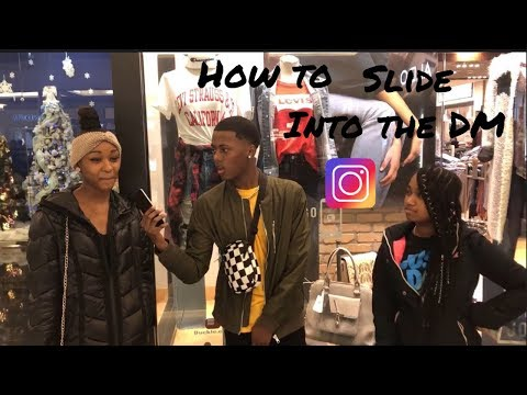 How to slide into a girls DM? |Public interview