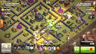 Clash of Clans - Strategi GoHoWi 3 star New (Golem, Hog, Wizard)