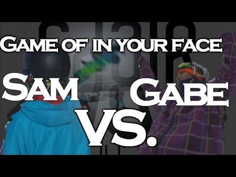 Game Of In Your Face: Gabe vs. Sam Anderson