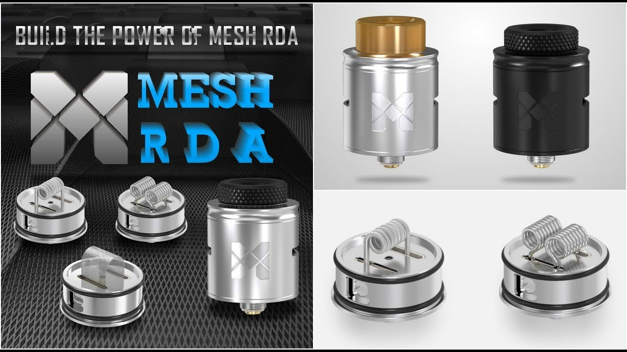 Vandy Vape Mesh RDA | Full Steam Ahead | Slideshow - YouTube