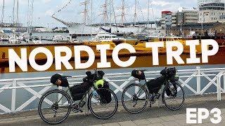 На велосипедах в Гётеборг! Велопутешествие по Скандинавии! Nordic Trip, ep3