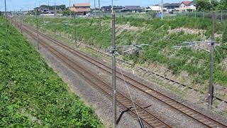 E657系K12編成 74M 特急ときわ74号 品川 行 岩間~友部 大沢跨線橋 通過 2018.05.20