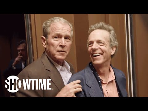 George W. Bush & Debate Moderator Jim Lehrer Look Forward to the 1st Debate   THE CIRCUS   SHOWTIME