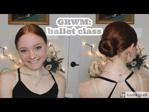How I Do My Hair  Makeup for Ballet Class