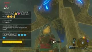 Late night chill stream  - Legend of Zelda: Breath of the Wild