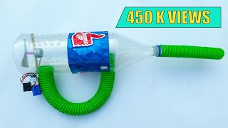 How To Make Powerful Vacuum Cleaner At Home |  Using Plastic Bottle