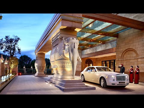 The Leela Palace New Delhi: 5-star luxury hotel in India's capital (full tour)