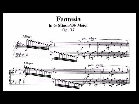 Fantasia, in G Minor, Op. 77
