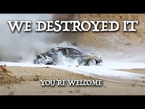 DESTROYING THE WORLD'S UGLIEST CAR