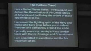 Sailors Creed - Navy PIR 10/30/09