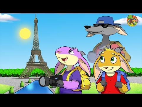 Волк и семеро козлят в Париже | KONDOSAN На русском смотреть сказки для детей 2019