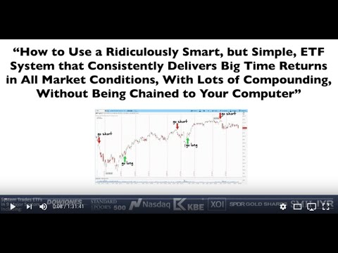 Ridiculously Simple ETF Trading System Consistently Outperforms Market Indexes!