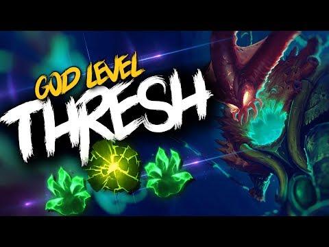 GOD LEVEL THRESH MONTAGE   League of Legends thumbnail